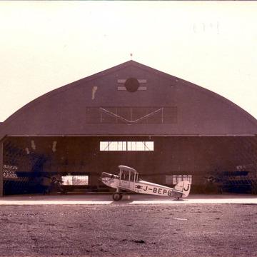 Haneda Airfield hanger, c. 1930.