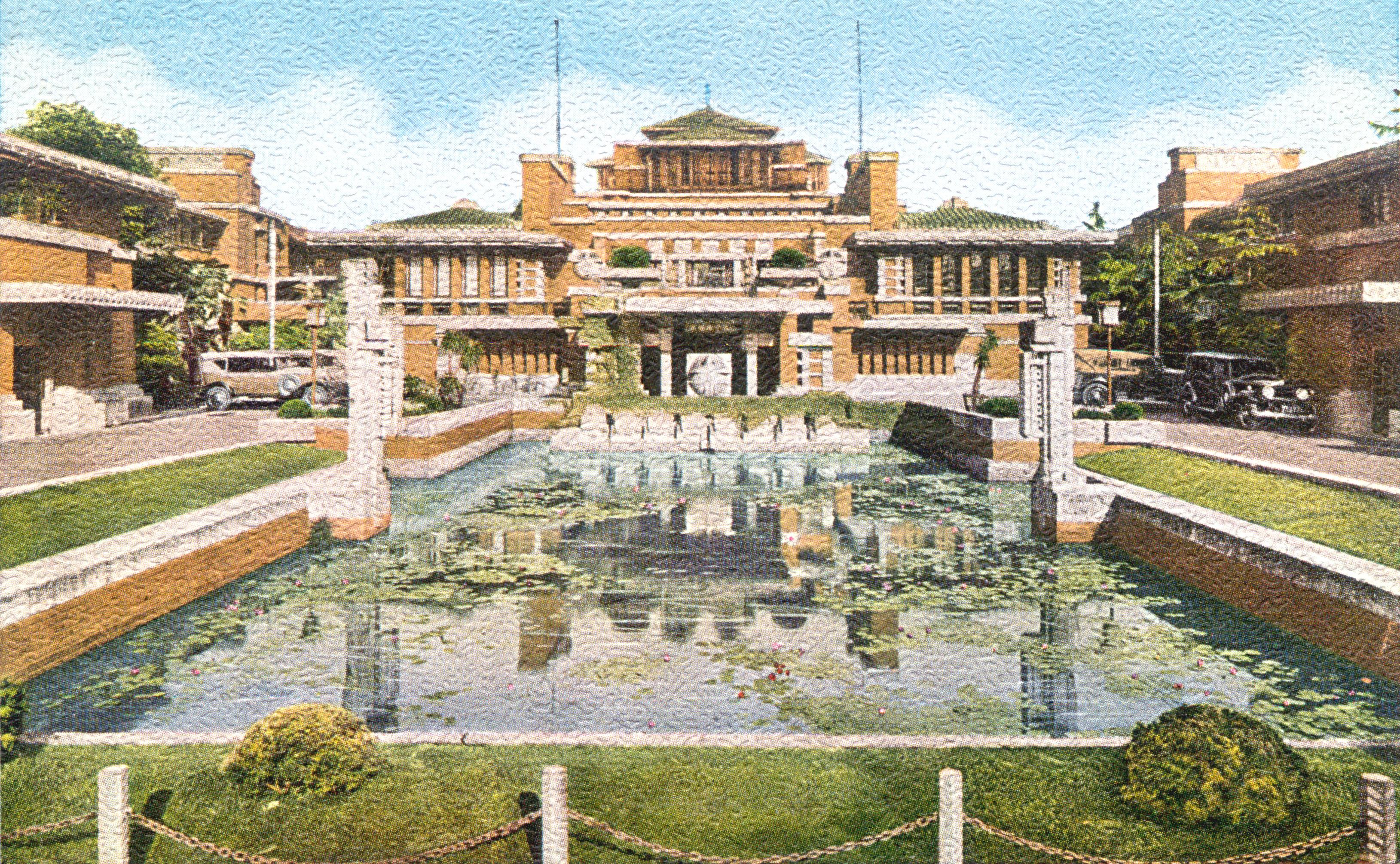 Imperial Hotel (Frank Lloyd Wright), 1923-1968.