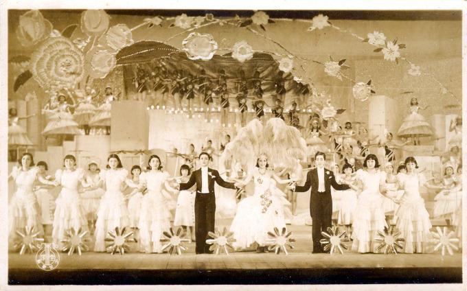 Takarazuka performers, c. 1940.