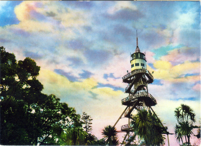 Heiwa Tower, on Enoshima, c. 1960.