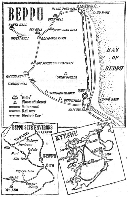 Map: Beppu