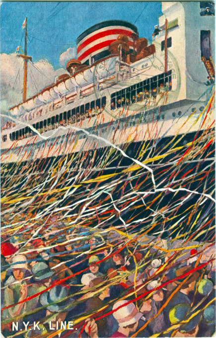 Departure. NYK Line, c. 1930.