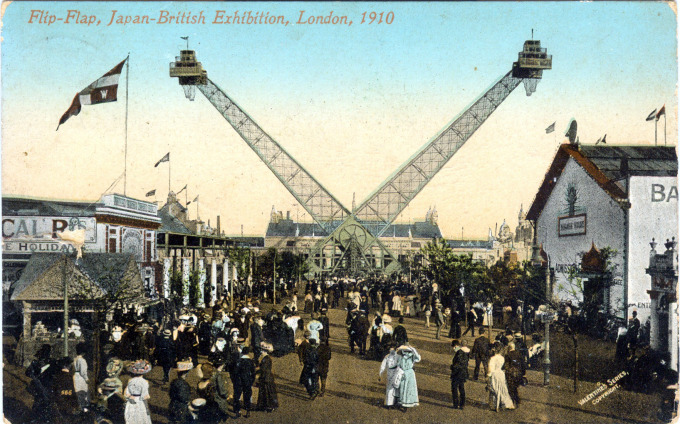 Flip-Flap, Japan-British Exhibition, London, 1910.