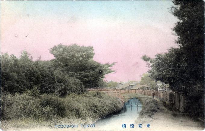 Yodobashi, Tokyo, c. 1910.