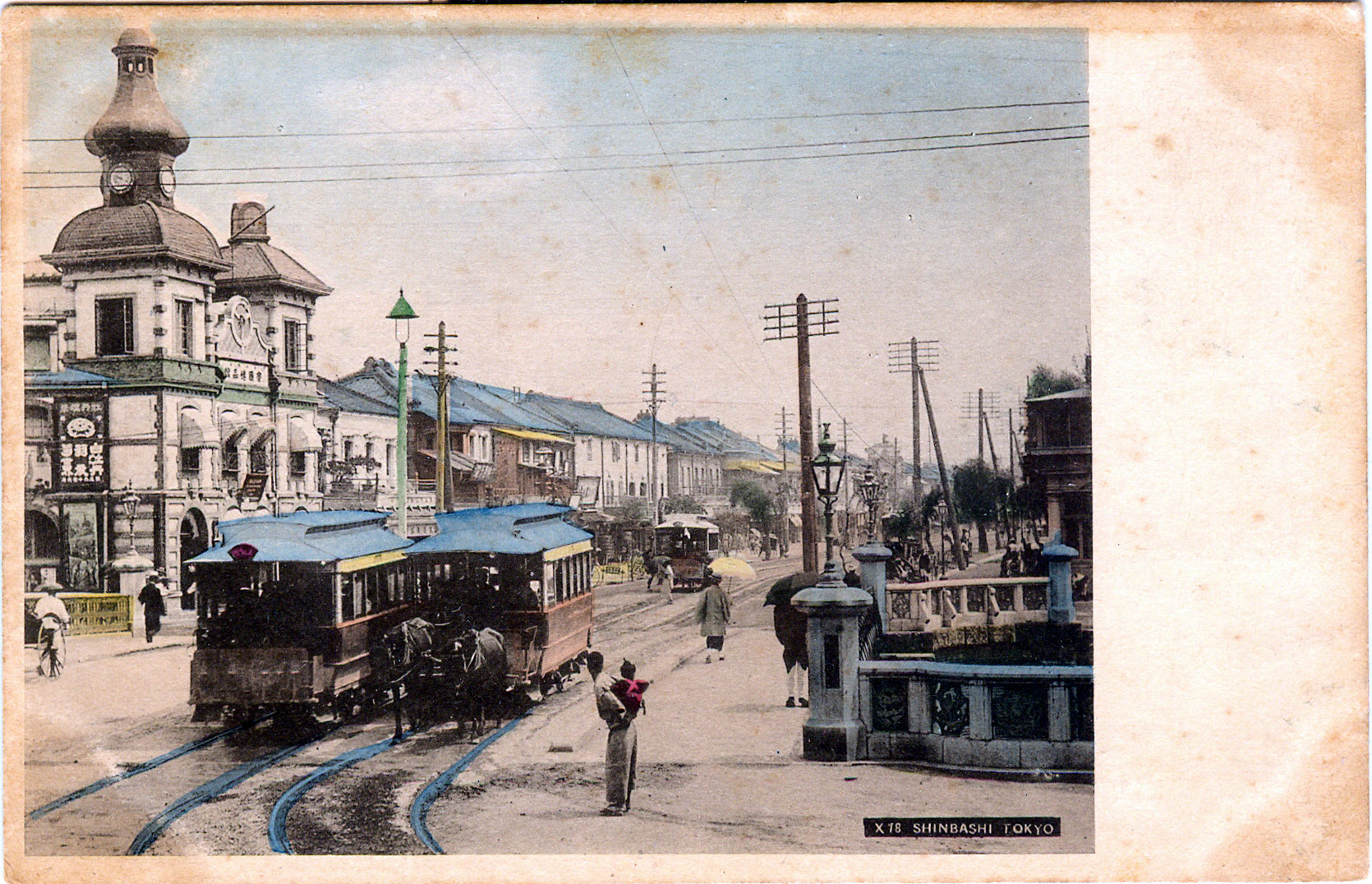 Shimbashi District 1900 1950 Old Tokyo