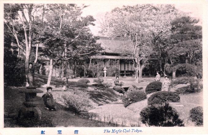 Maple Club, Tokyo, c. 1920.