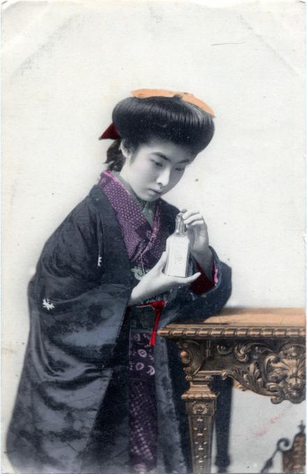 Geisha & Elixir, c. 1910.