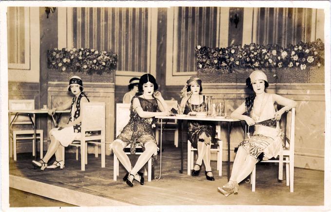 """Taxi dancers"", c. 1930."