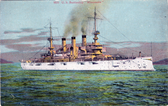 The Quot Great White Fleet Quot At Yokohama 1908 Old Tokyo