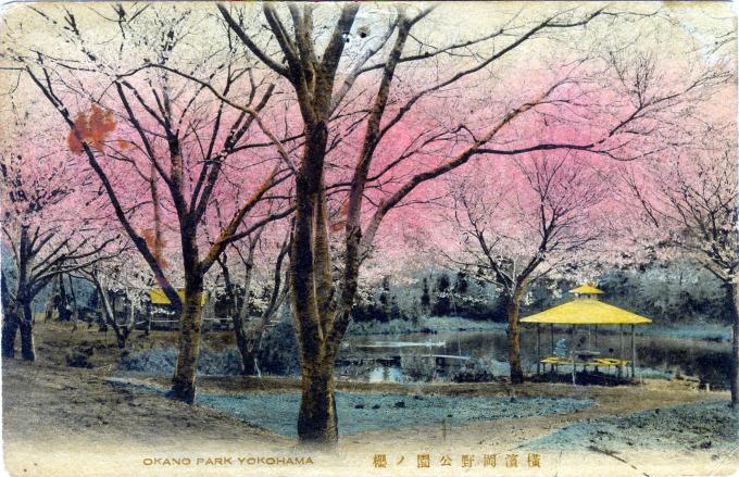 Okano Park, Yokohama, c. 1910.