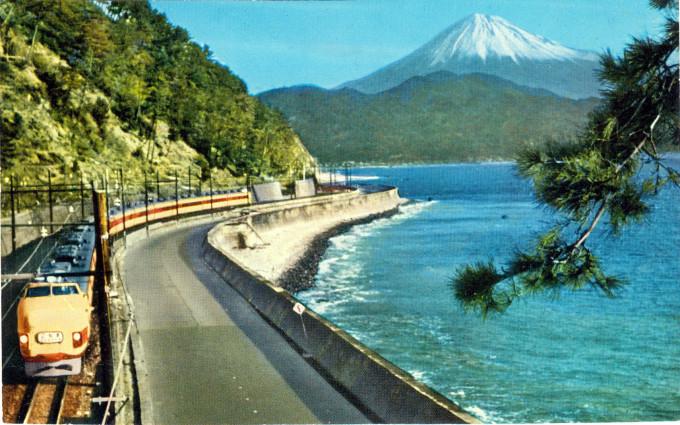 "Tokaido Main Line ""Kodama"", c. 1960."