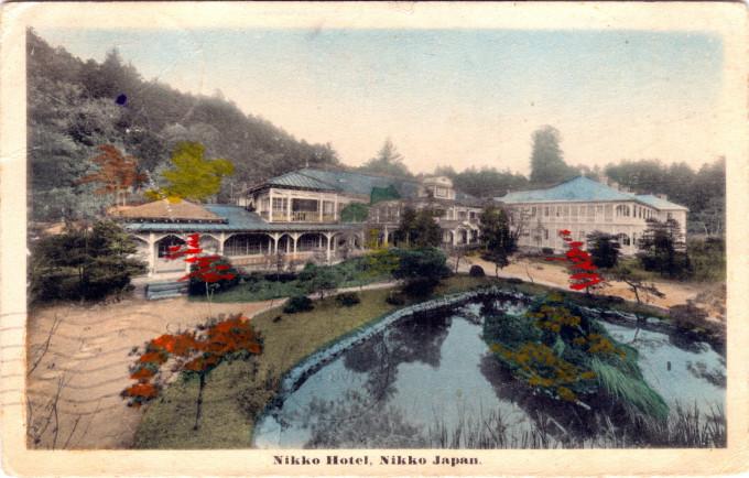 Nikko Hotel, Nikko, c. 1910.