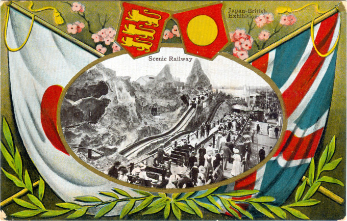 Scenic Railway, Japan-British Exhibition, 1910.
