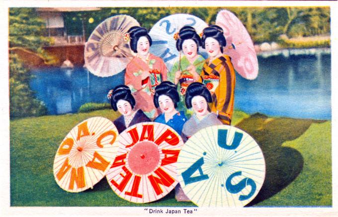 """Drink Japan Tea"", c. 1950."