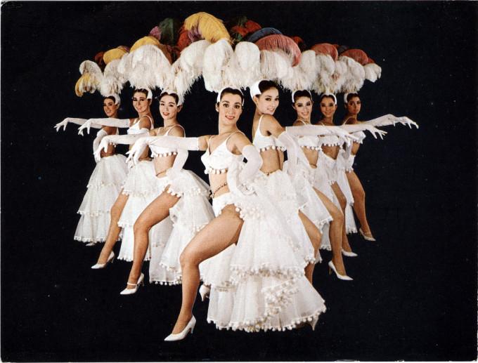 Kokusai Theater dancers, c. 1960.
