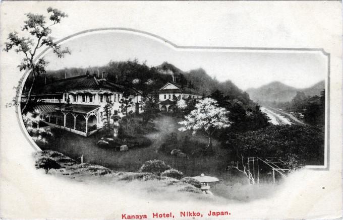 Kanaya Hotel, Nikko, c. 1920.