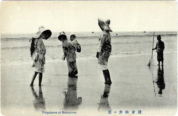 Yuigahama, Kamakura, c. 1920.