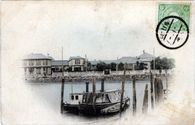 Tsukiji Foreign Settlement, c. 1900.