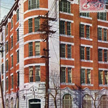 Okura Partners headquarters, Ginza, 1921.
