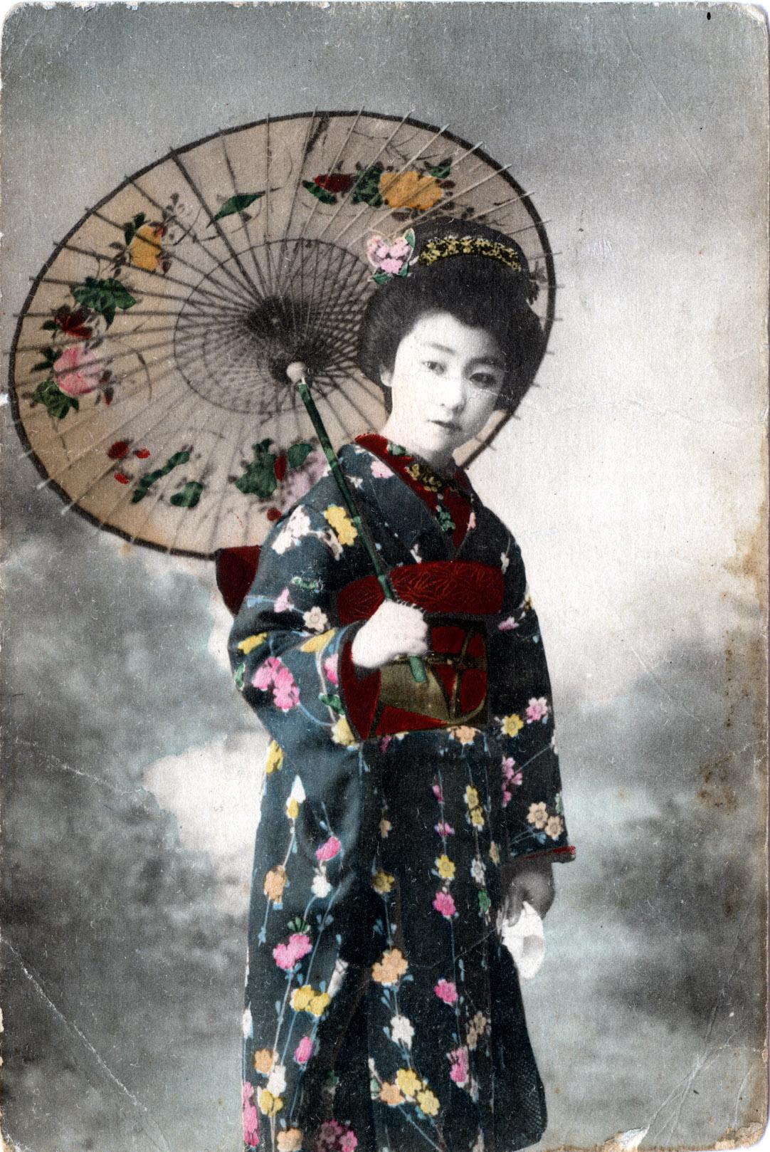 Japanese Kimono Top