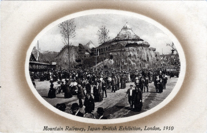 Moutain Railway, Japan-British Exhibition, 1910.