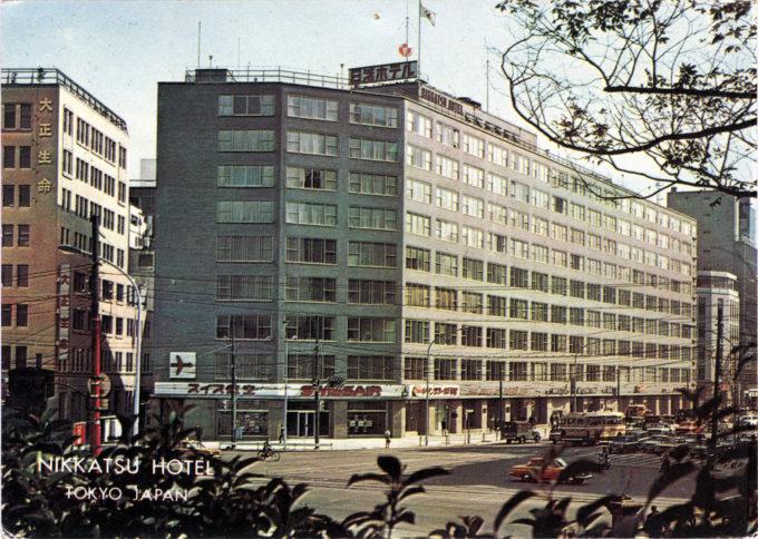 Nikkatsu Hotel, Tokyo, c. 1965.