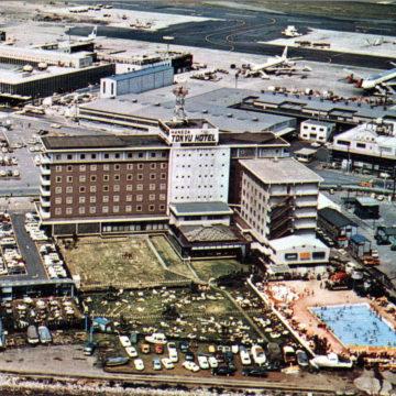 Haneda Tokyu Hotel, Haneda Airport, c. 1970.