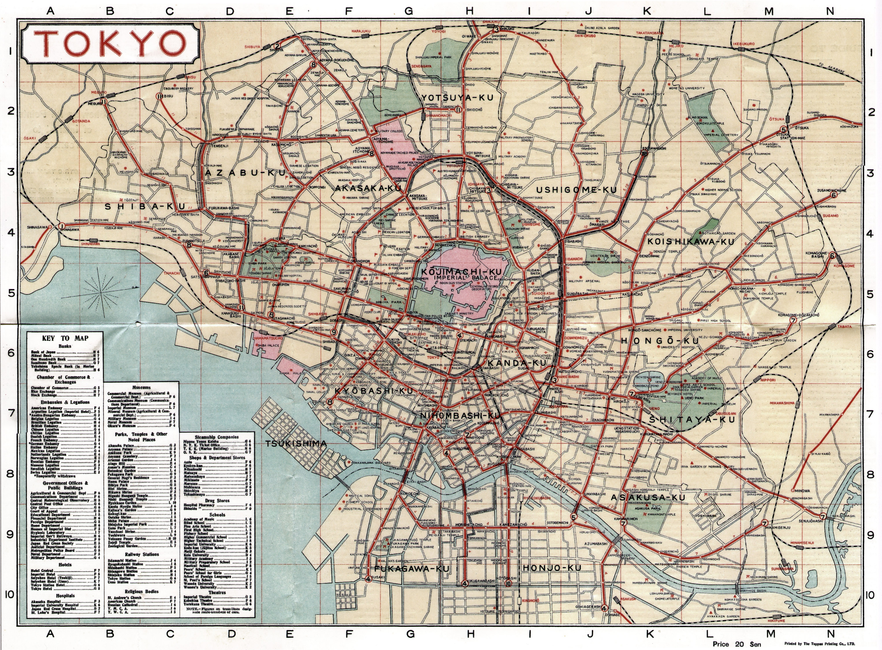 Cartography | Old Tokyo