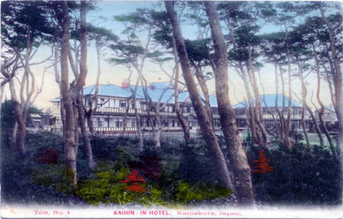 Kaihin-in Hotel, Kamakura, c. 1920.