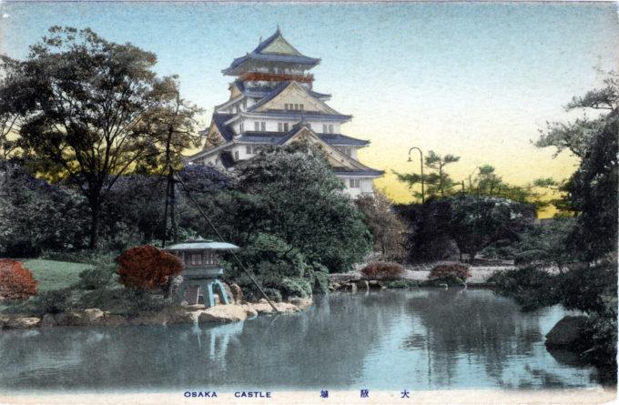 Osaka Castle, Osaka, c. 1920.
