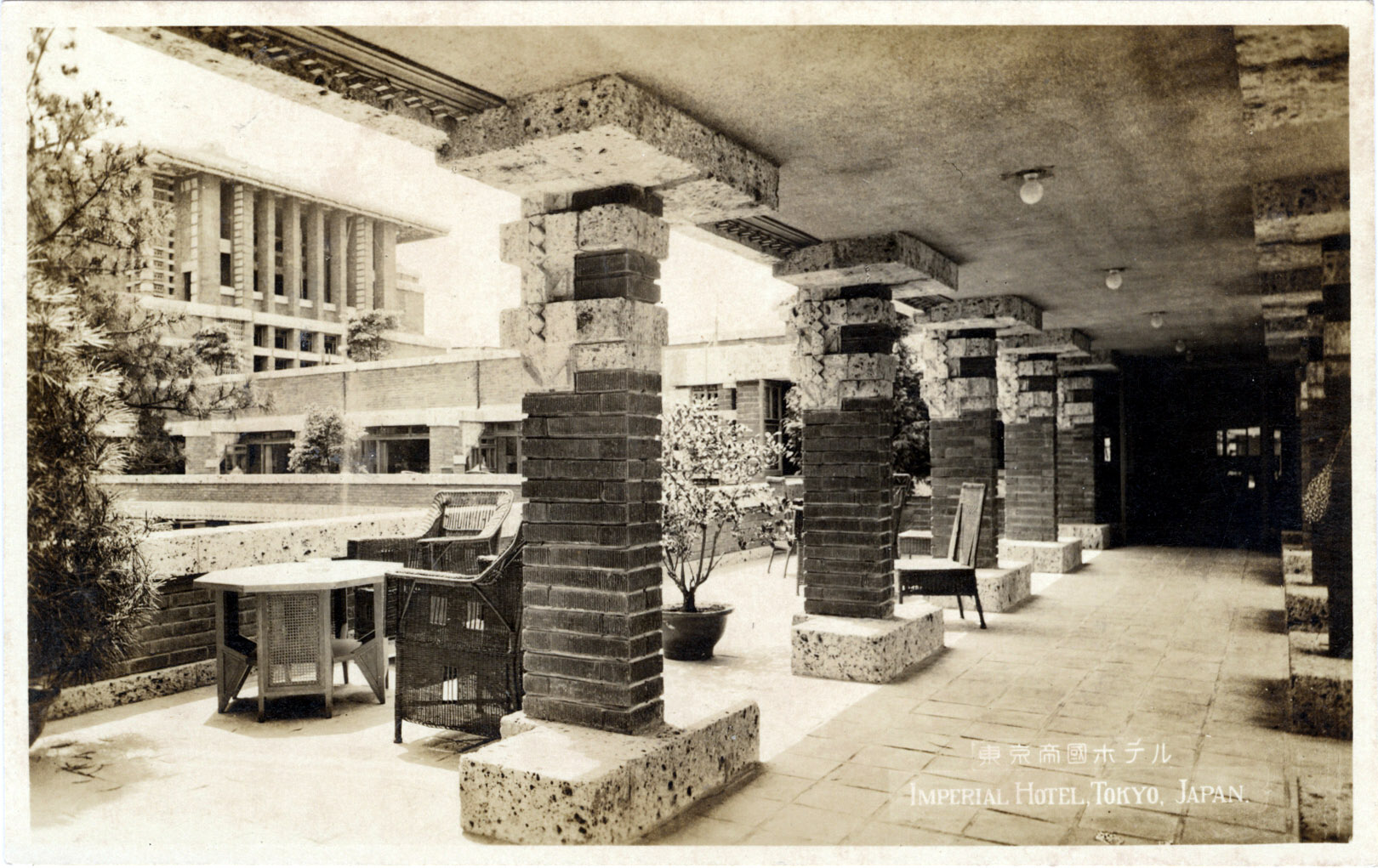 Imperial hotel 1923 1968 old tokyo for 1930s hotel decor