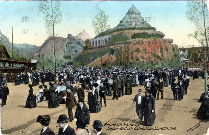 Mountain Railway, Japan-British Exhibition, London, 1910.