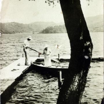 Lake Nojiri, c. 1930.