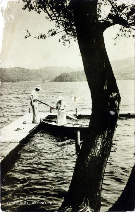 Lake Nojiri, c. 1930.