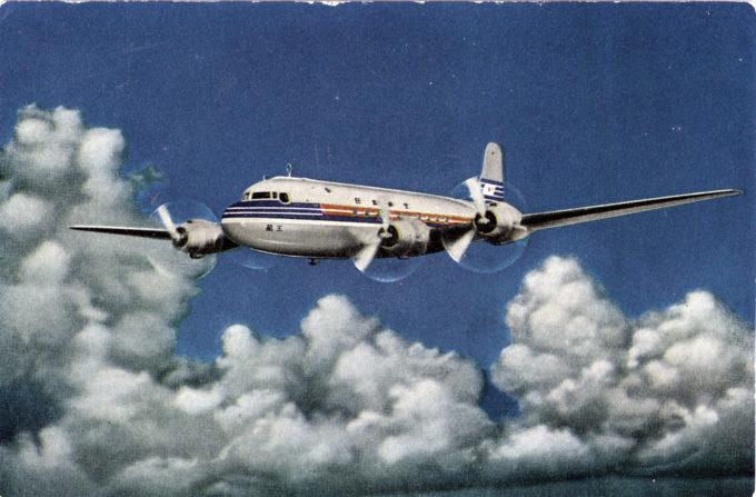 JAL DC-4, c. 1955.