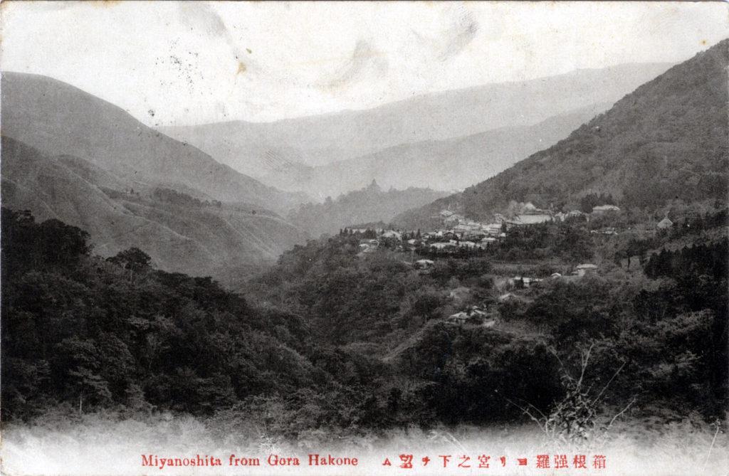 Miyanoshita, from Gora Hakone, c. 1910.