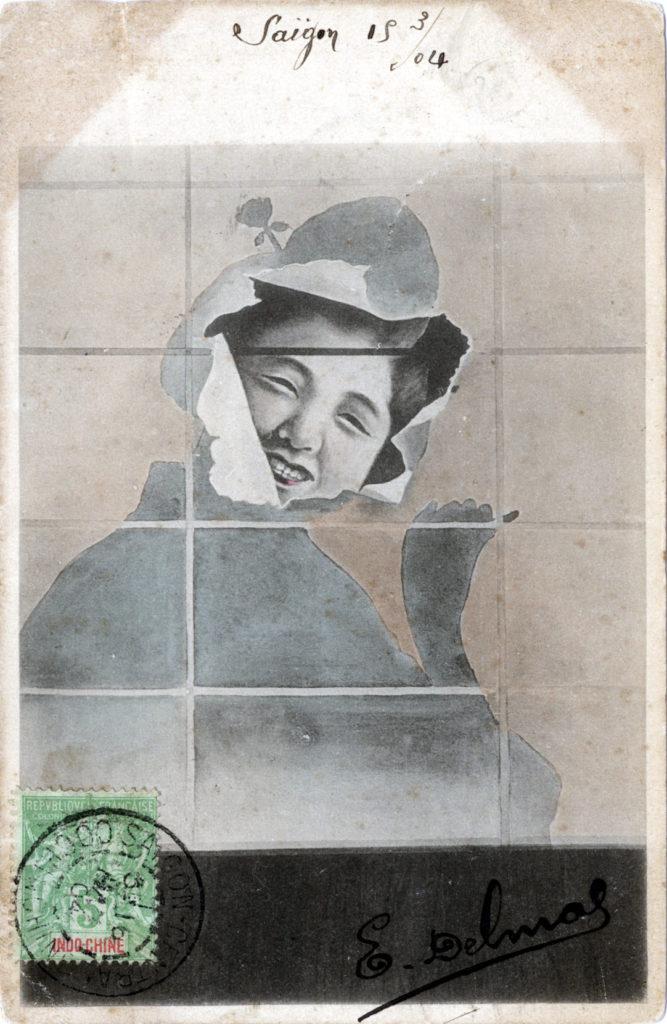 Smiling geisha, 1904.