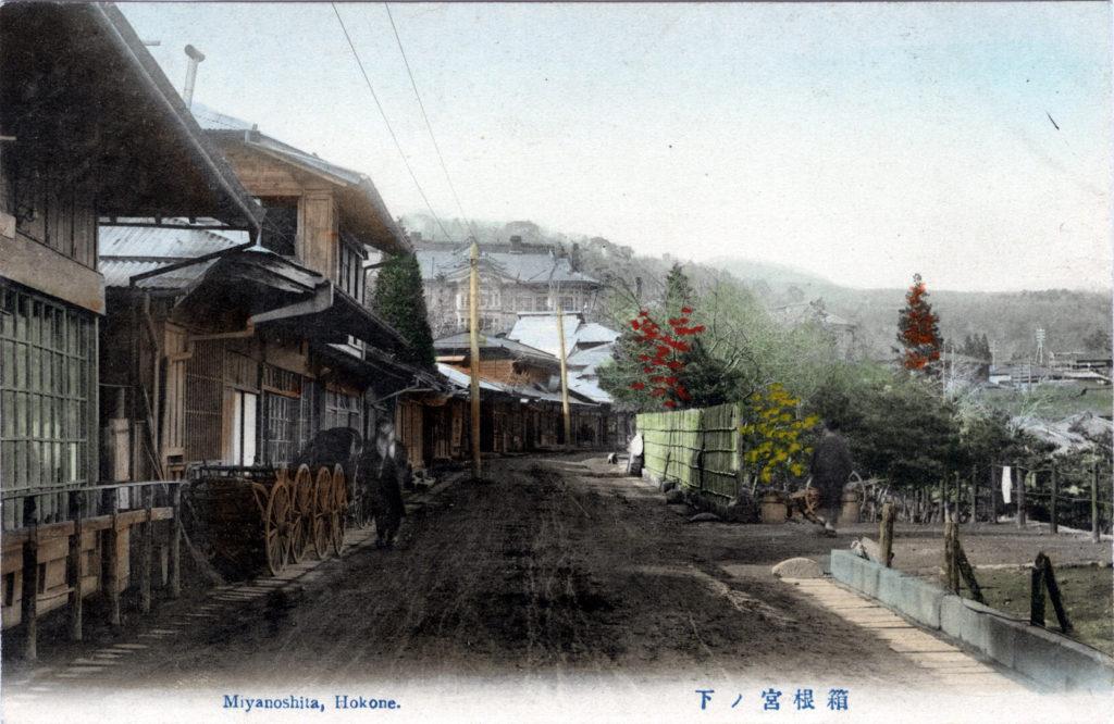 Miyanoshita, Hakone, c. 1910.