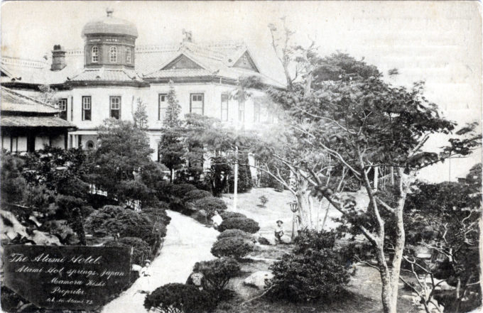 Atami Hotel, Atami, c. 1910.
