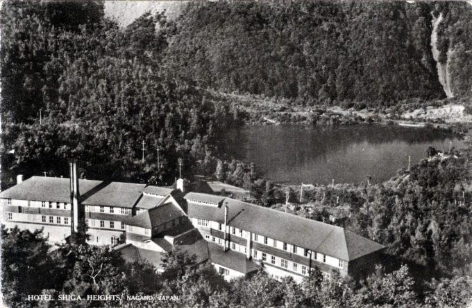 Hotel Shiga Heights, c. 1940.
