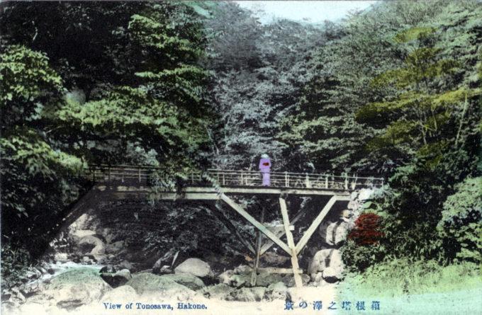 Tonosawa River, Hakone, c. 1920.
