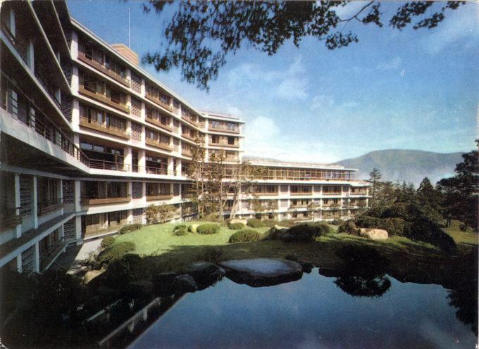 Exterior, Hotel Kowaki-en, c. 1960.