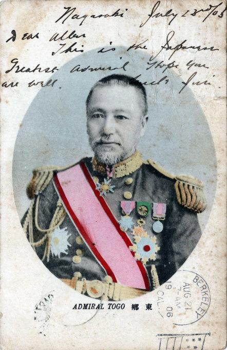 Admiral Togo, 1906.