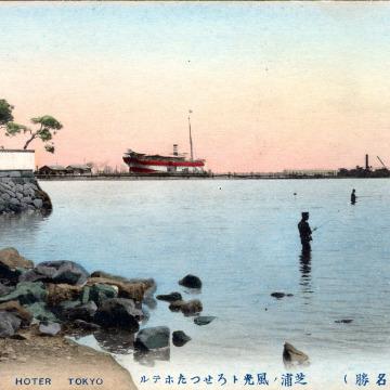 Rosetta Hotel, Shibaura, c. 1910.